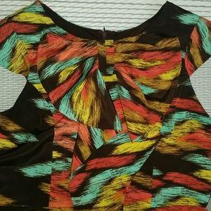 Eva Franco prismatic dress 10 NWT